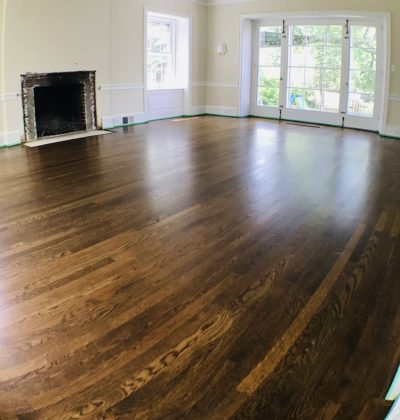 Plank wood flooring Install