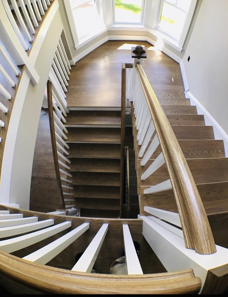 Wood Stairset